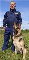 秋の褒章、栃木から9人 黄綬褒章 県警察犬訓練所長、池上行雄さん(71) 犬の性能12…