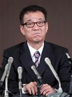 【大阪都構想】維新・公明会見(4)松井氏「不安解消に説得力なかった」
