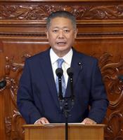 維新幹事長「国政進出で日本大改革を」 引退表明の松井氏に
