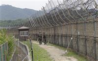 北から軍事境界線越え 韓国軍が男性の身柄確保