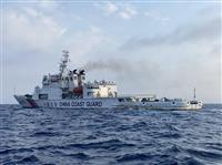 岸防衛相、中国海警法の行方を注視 武器使用容認めぐり