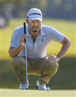 小平暫定21位、松山26位 予選通過は確実 米男子ゴルフ第2日