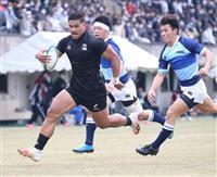 天理大、5連覇へ大勝発進 関西大学ラグビーが開幕