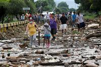 ハリケーンで百人超死亡か 中米グアテマラなど