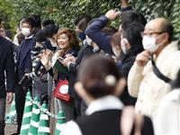 【立皇嗣の礼】「おめでたい」沿道から秋篠宮さまにお祝いの声 間隔あけコロナ対策も