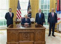 「特別な同盟さらに深化」 イスラエル首相も祝意 トランプ氏には謝意