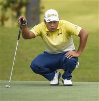 松山63で2打差2位 小平38位 米男子ゴルフ最終日
