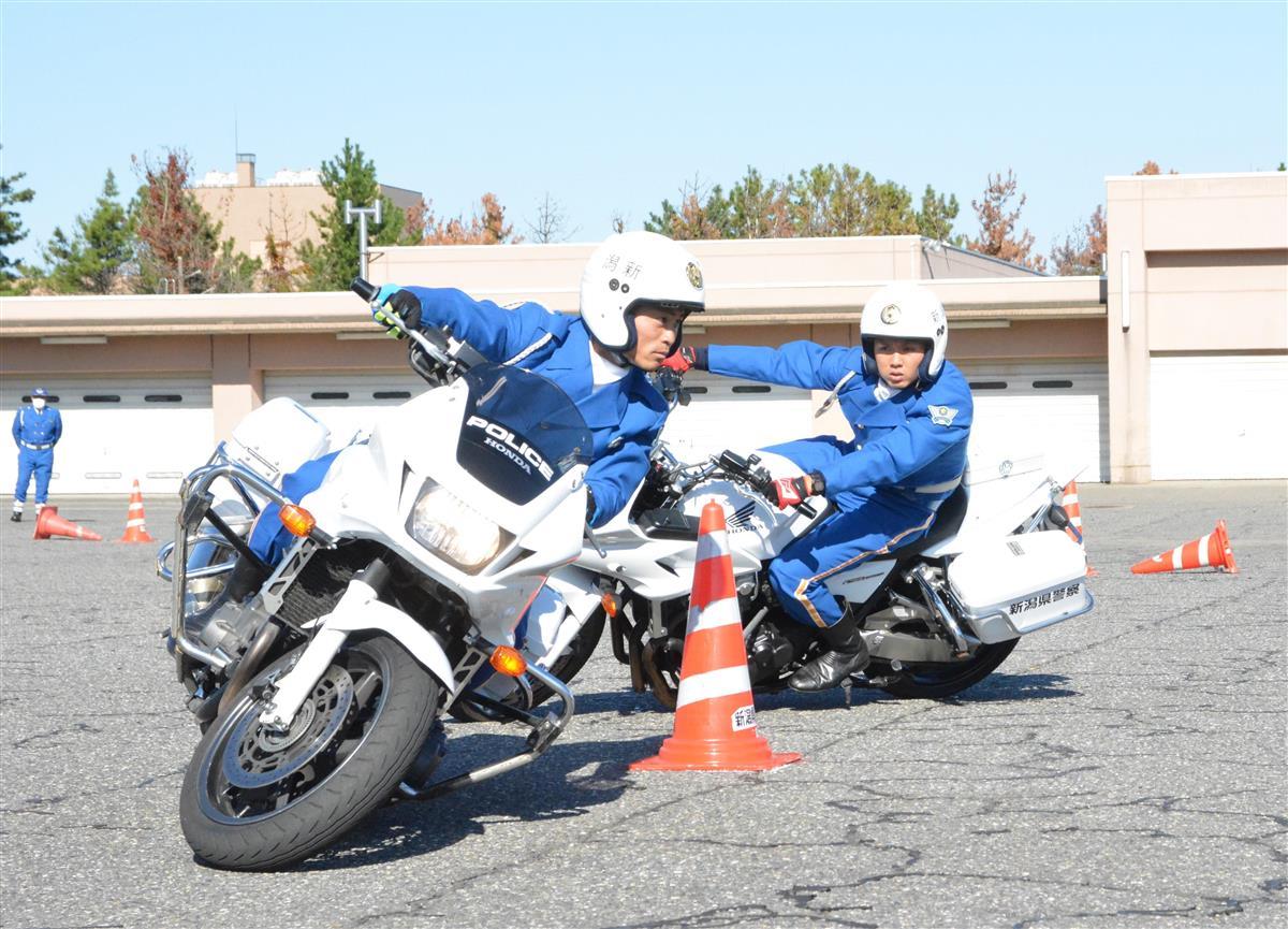 【動画】新潟県警、白バイ運転競技で全国優勝 44年ぶりVと交…