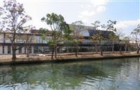 「水上に浮かぶ舞台」柳川市民文化会館が12月開館 福岡