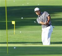 松山、今平がコースで調整 12日からマスターズゴルフ