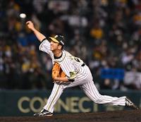 阪神藤川が引退登板 九回、直球だけで三者凡退