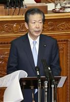 憲法改正めぐり「首相は抑制的」「遠慮している」と公明・山口氏