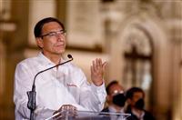 ペルー大統領を罷免 議会可決、州知事時代の汚職疑惑「倫理的不適格」
