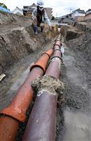 【動画】驚異の耐久性…170年使われ続ける排水施設 奈良・郡山城から常滑焼の土管
