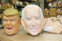 玩具メーカーの「バイデン氏マスク」 注文数はトランプ氏優勢のナゼ