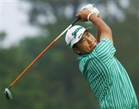 松山が第1ラウンド開始 ゴルフのマスターズ開幕