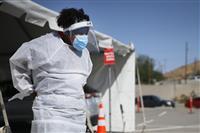 米 新型コロナの入院患者が過去最多 テキサス州エルパソで死者の収容追いつかず