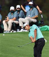 暫定5位の松山「全体的に悪かった」 マスターズゴルフ