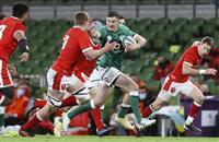 アイルランドが快勝発進 ラグビーの新国際大会
