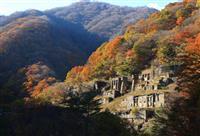 【動画】【東日本大震災 10年へ】「鉄の遺跡」彩る紅葉 釜石鉱山選鉱場跡
