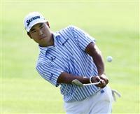 松山10位、首位と8打差 マスターズゴルフ第3日