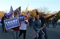 【米大統領選】トランプ派、首都を行進 「不正投票」訴え