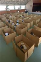トラフ+コロナに備え避難所運営訓練 和歌山・海南市