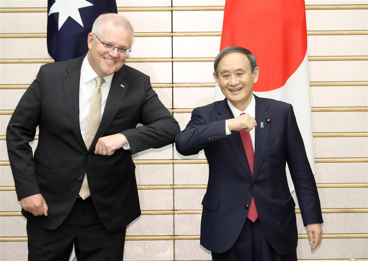 日豪首脳会談 「円滑化協定」に大枠合意 中国念頭「インド太平洋」推進 ...
