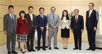 首相、WFPのノーベル平和賞受賞に祝意 日本代表と面会