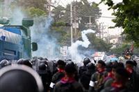タイ、衝突で55人負傷 反政府派に銃撃か