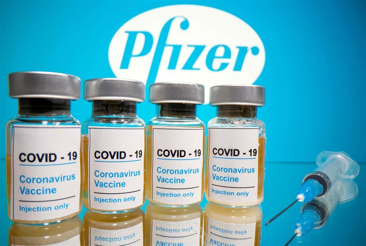 米製薬大手ファイザーが開発中の新型コロナウイルスのワクチン(ロイター)