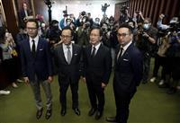 米英など5カ国、中国の新基準に「深刻な憂慮」 香港の議員資格剥奪