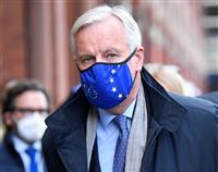 英EUのFTA協議 交渉メンバー感染で対面中断