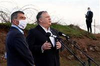 ゴラン高原で「ここはイスラエル」と米国務長官 シリア猛反発