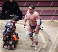 照ノ富士、優勝争い残り「明日の一番に集中してやるだけ」 千秋楽の貴景勝戦へ