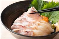 【発見!ふくしまお魚まつり】メニュー紹介(1)「ノドグロとヒラメの炙り丼」