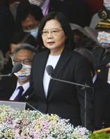 台湾、米長官発言70%賛成 「中国一部でない」