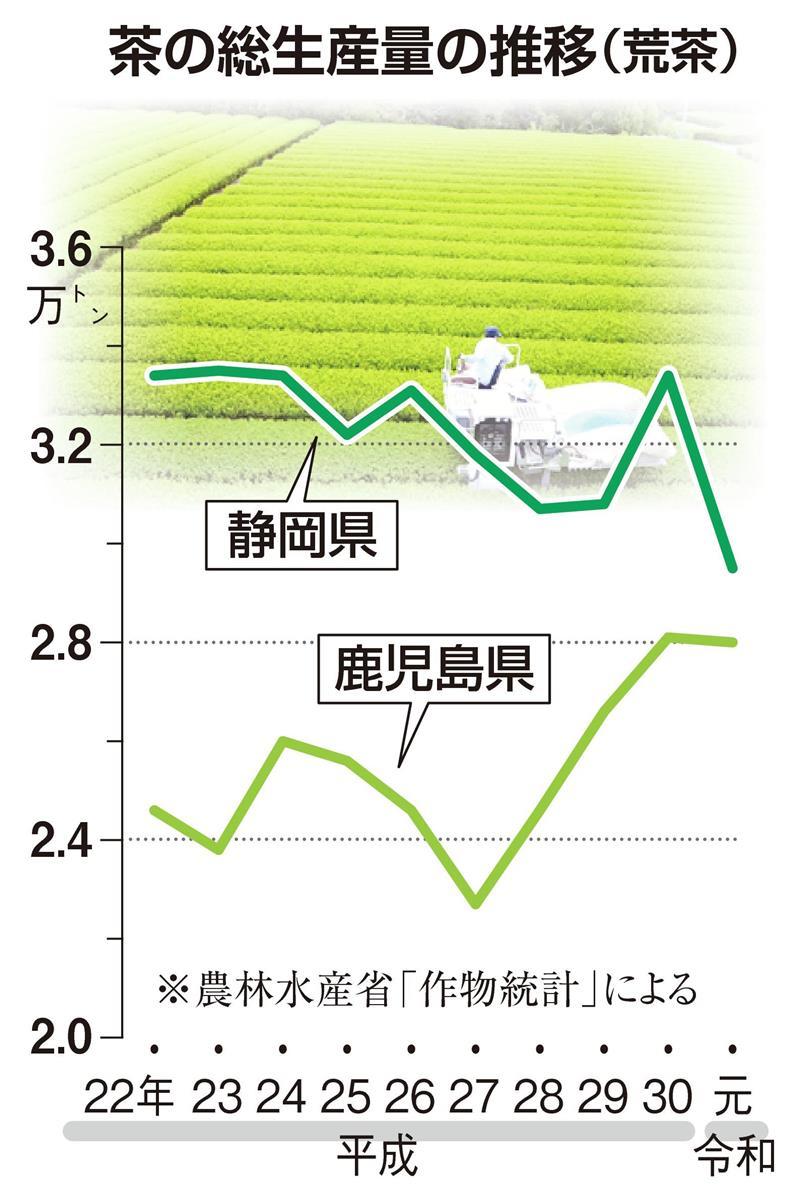 【深層リポート】茶どころ静岡ピンチ 生産量減 トップ陥落の危…