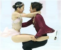 アイスダンス高橋組は3位 NHK杯