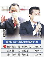 【闘う】静岡5区 二階・岸田両派、骨肉の代理戦争