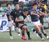 天理大が5連覇 関西大学ラグビー