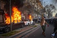仏警官映像規制に抗議デモ 全国で13万3千人参加