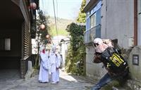 若旦那の遺志継ぎコスプレ 大分・湯平温泉で撮影会