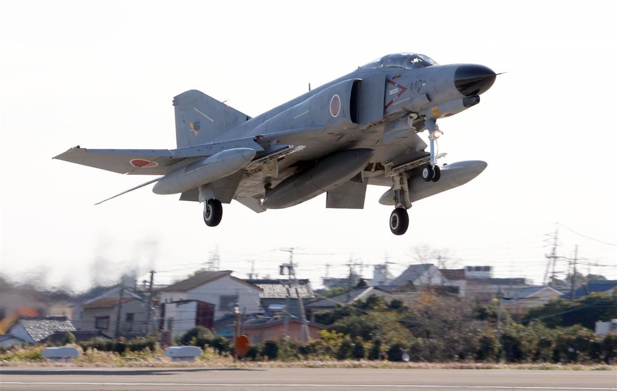 航空自衛隊の戦闘機「F-4ファントム440号機」の…|【動画】F4戦闘機ファントムの… 写真3/5|産経ニュース