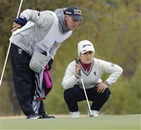 畑岡72で4打差暫定18位 米女子ゴルフ第1日