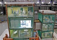 地震時の病院機能を検証 兵庫・三木で耐震実験