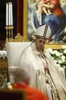 教皇の同性婚容認を否定 バチカン内部通知、火消し図る