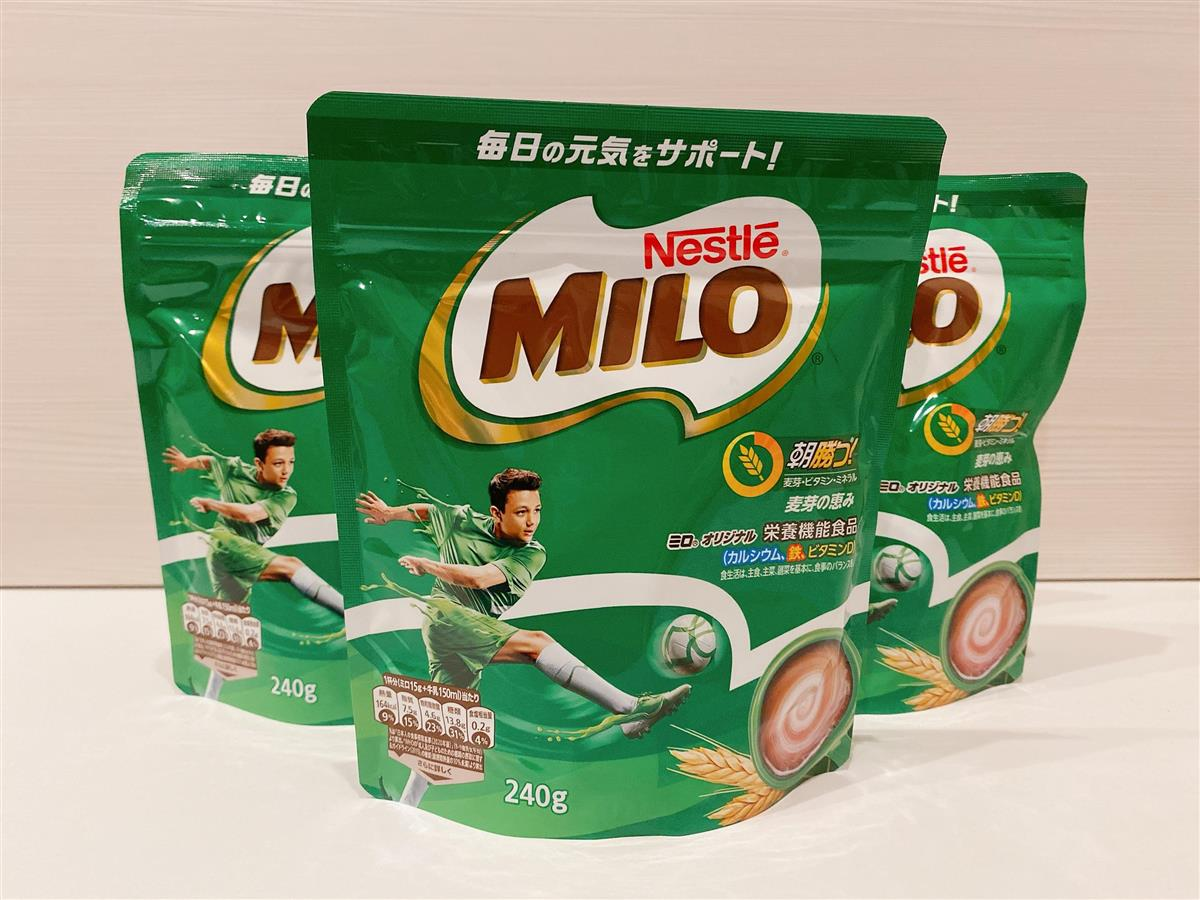 栄養 ミロ