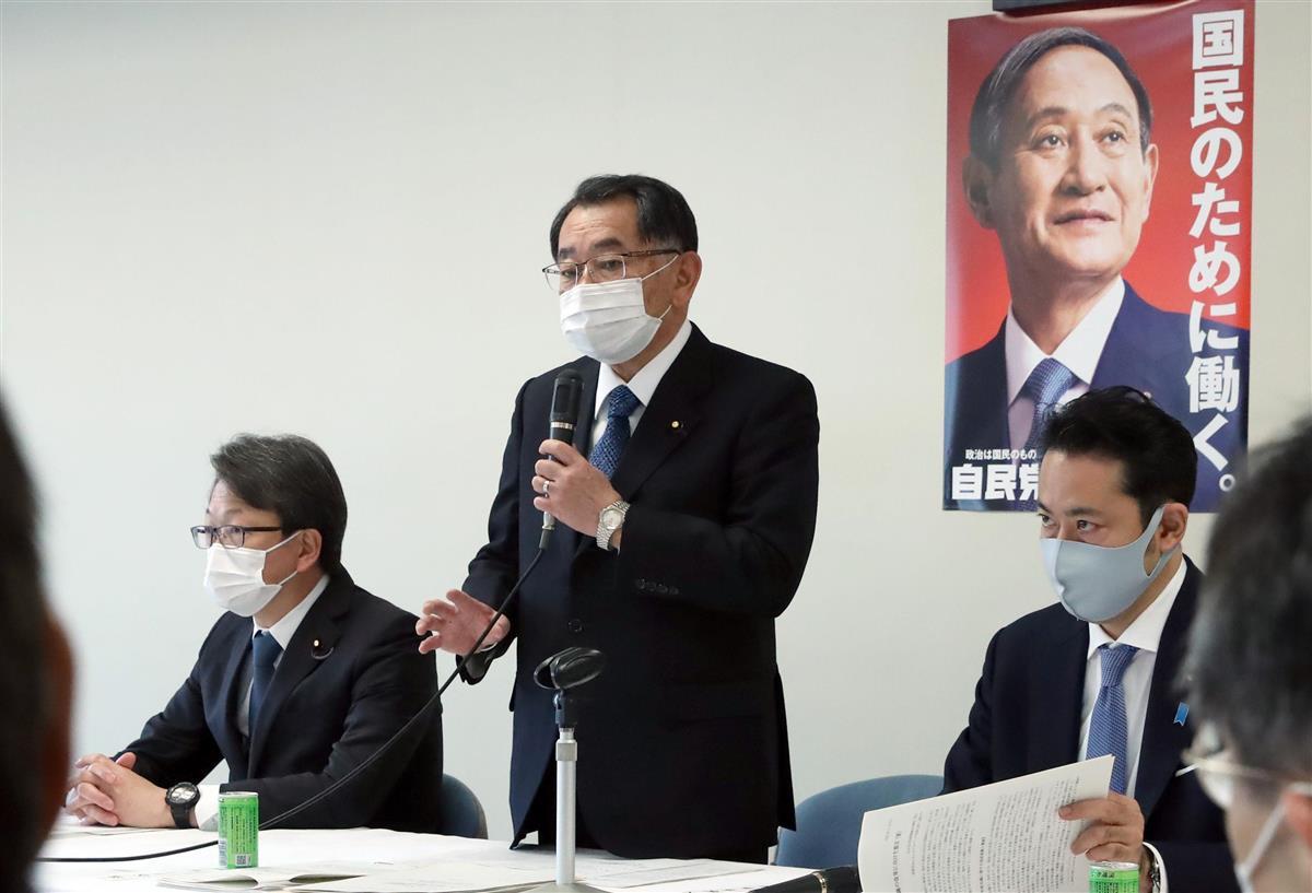 政治 自民党・学術会議提言案 内閣第二部会