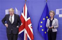 英EU両首脳会談 FTA交渉13日まで継続で一致